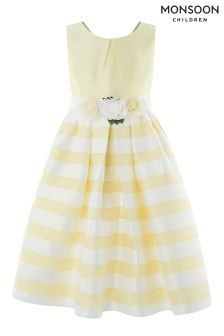 Monsoon Yellow Elowen Dress