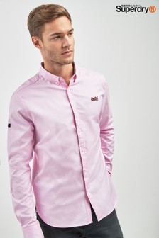 Superdry Pink Button Down Shirt