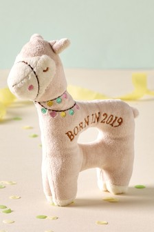 Born In 2019 Llama Rattle