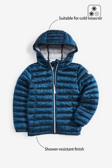 Shower Resistant Short Padded Jacket (3-16yrs)