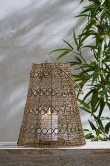 Hand Woven Wire Lantern
