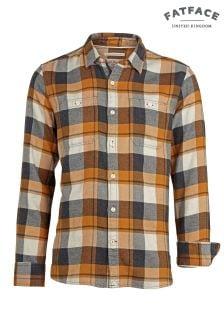 FatFace Ochre Lanark Buffalo Check Shirt