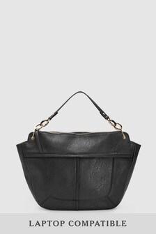 Resin Chain Hobo Bag