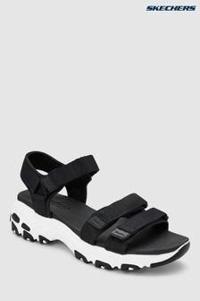 c238ecb21b5d16 Buy Women s footwear Footwear Black Black Sandals Sandals Skechers ...