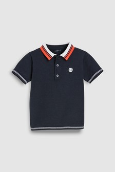 Short Sleeve Knitted Polo (3mths-7yrs)