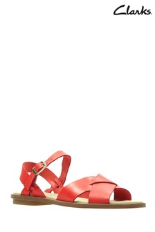 Clarks Orange Willow Gild Sandal