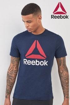 טי עם לוגו של Reebok