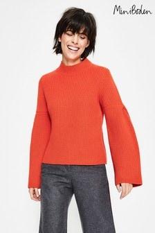 סוודר של Boden מדגם Leah בצבע כתום