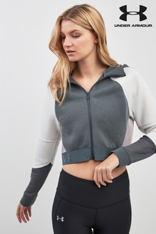 Sweat à capuche Under Armour gris color-block