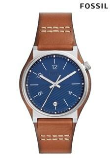 Fossil™ Brown Cuff Watch