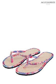 Accessorize Tropical Seagrass Flip Flop