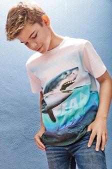 Graphic Shark T-Shirt (3-16yrs)
