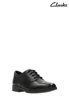 Clarks Black Sami Walk K Shoe