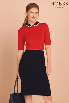 Hobbs Red Christie Dress