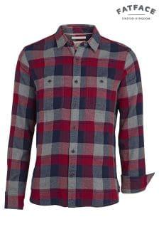 FatFace Claret Lanark Buffalo Check Shirt
