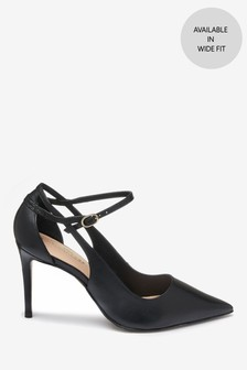 c9161423b32 Black · Tan · Signature Cut-Out Court Shoes