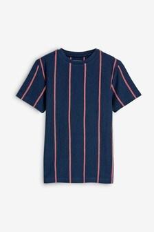 Vertical Stripe T-Shirt (3-16yrs)
