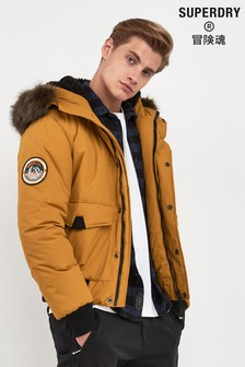 Superdry Yellow Everest Bomber Jacket