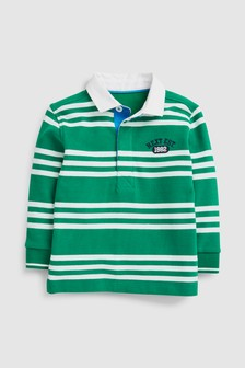 Long Sleeve Rugby Shirt (3mths-7yrs)