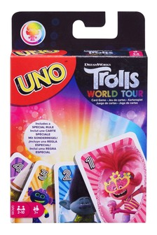 UNO Dreamworks Trolls World Tour