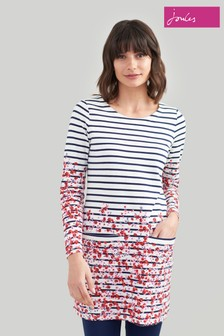 Joules Quinn 3/4 Tunic With Pockets