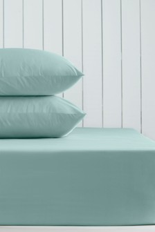 Deep Fitted Cotton Rich Flat Sheet