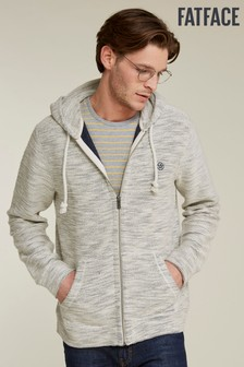 FatFace Natural Woolacombe Zip Through Hoody
