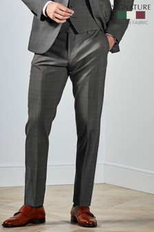 Reda Check Suit: Trousers