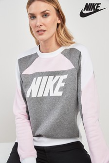 Pull col ras du cou color block Nike