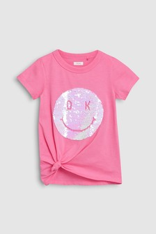 Flippy Sequin Face T-Shirt (3-16yrs)