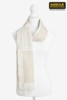 Barbour® International Oyster Logo Scarf
