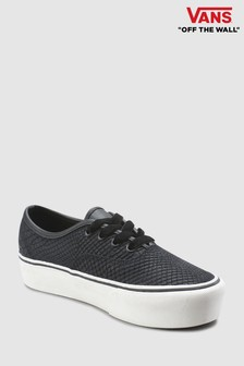 Vans Black Snake Authentic Platform