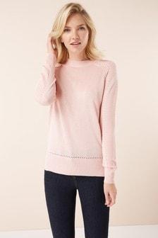 Ripple Sleeve Sweater