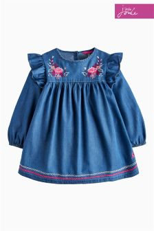 Joules Chambray Tamaryn Woven Top