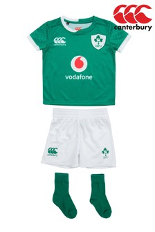 Canterbury Ireland Home 19/20 Rugby Infant Kit
