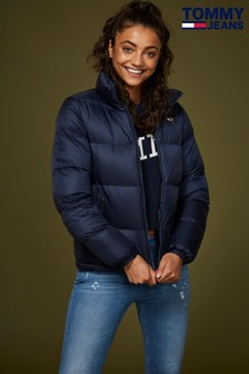 Tommy Jeans Blue Classic Quilted Jacket