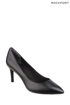 Rockport Black Patent Total Motion Point Toe Stiletto Shoes