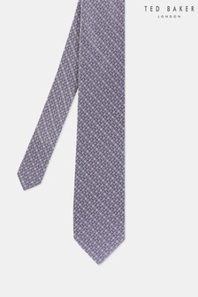 Ted Baker Lilac Geo Tie