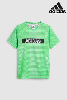 adidas Performance Green Graphic Tee