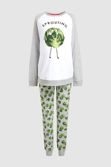 Just Like Me Women's Maternity Sprout Pyjamas