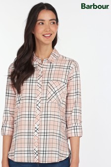 Barbour® Coastal Pink Check Relaxed Fit Shoreside Shirt