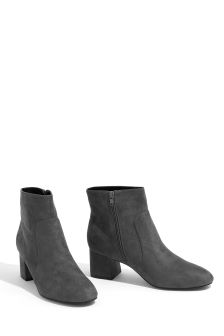 Oasis Mid Grey Kirsty Ankle Boot