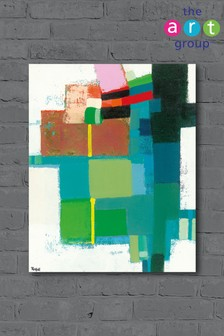Abstract Opus 10 by Colin Ruffell Canvas
