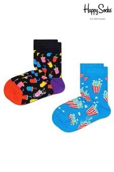 Happy Socks Kids Snacks 2 Pack Socks