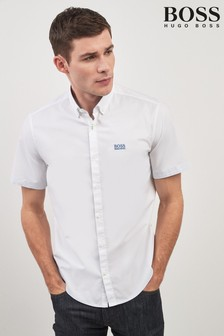BOSS Biadia Logo Short Sleeve Shirt