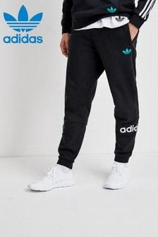 adidas Originals Black 90s Train Track Pant
