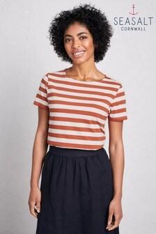 Seasalt Orange Sailor T-Shirt