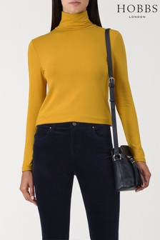 Hobbs Ochre Mischa Roll Neck Sweater