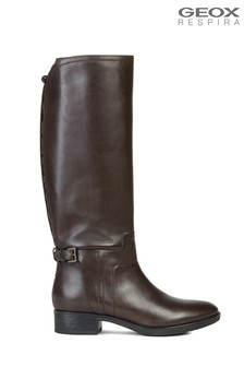 Geox Women's Glynna Brown Boot