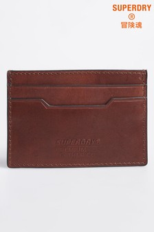 Superdry Leather Card Holder